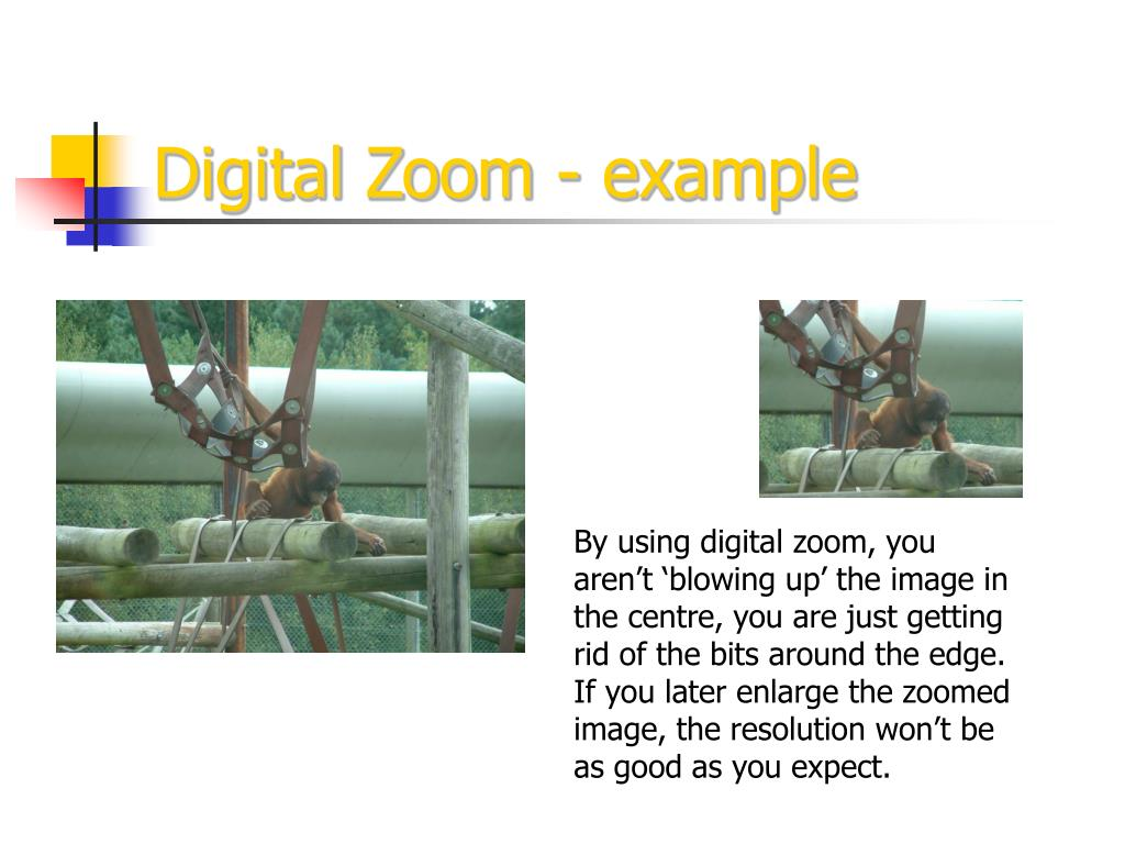 Digital Zoom - example