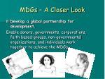 mdgs a closer look21