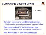 ccd charge coupled device