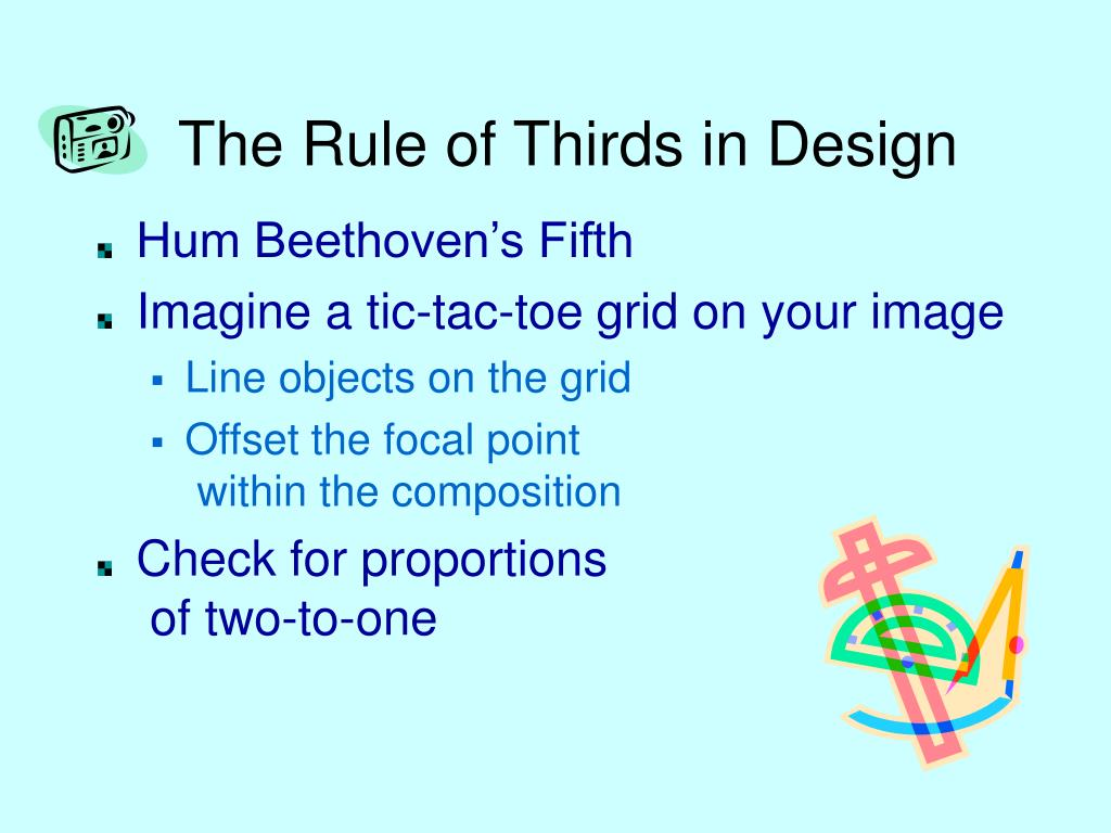 The Rule of Thirds in Design