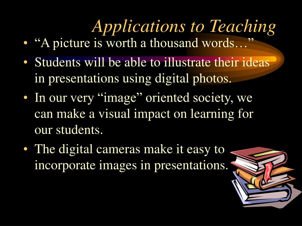 Applications to Teaching
