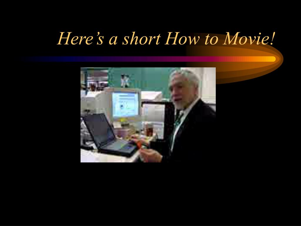 Here's a short How to Movie!