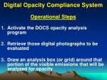 digital opacity compliance system15