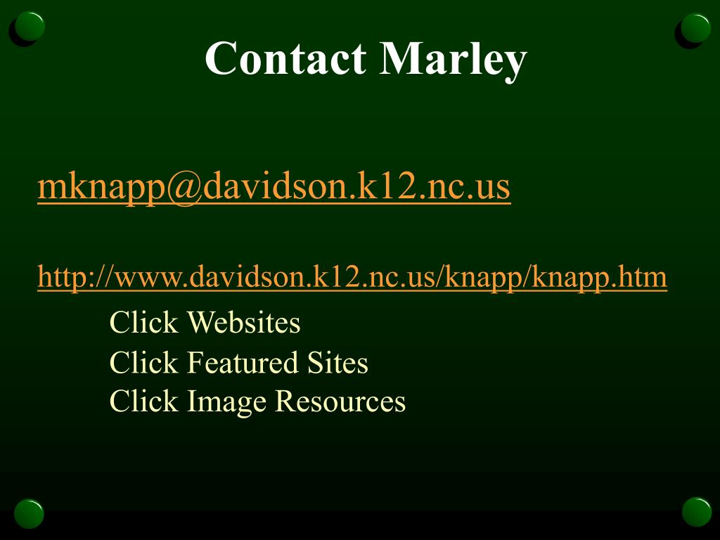 Contact Marley