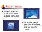 raster images
