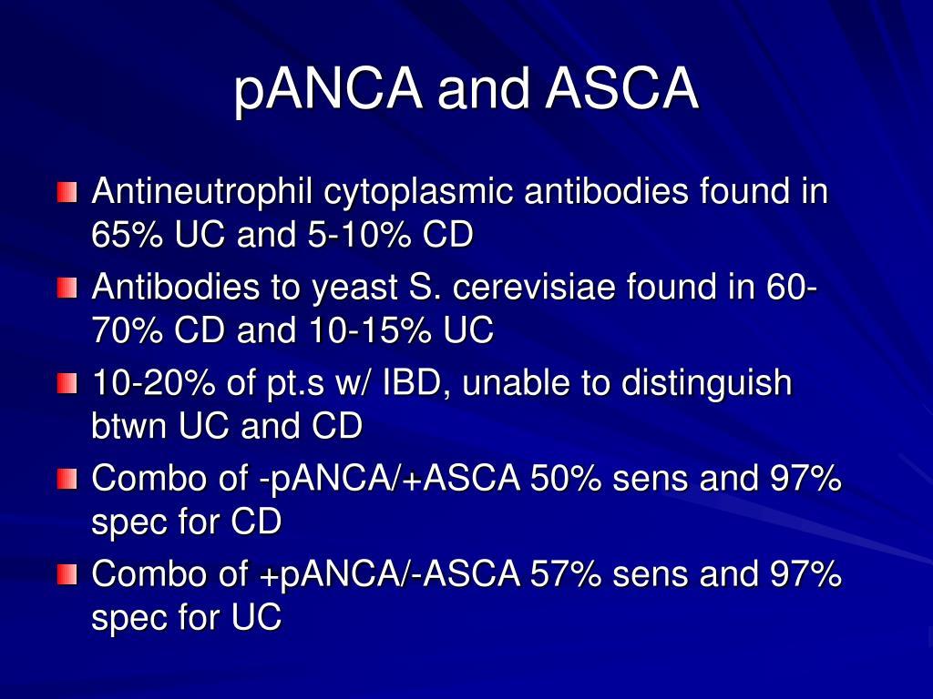 pANCA and ASCA
