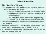 the obesity epidemic57