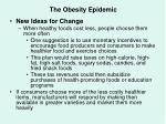 the obesity epidemic65