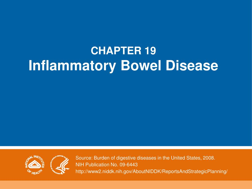 chapter 19 inflammatory bowel disease l.