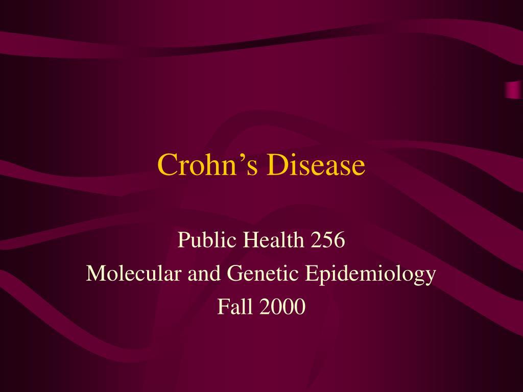 crohn s disease l.