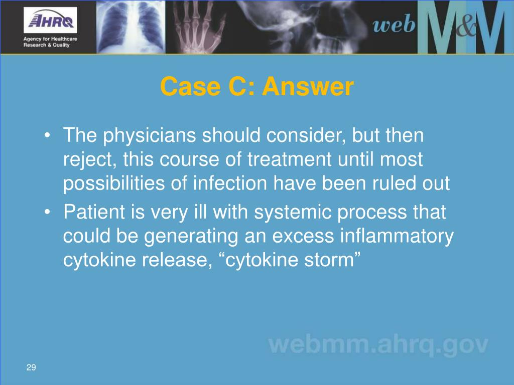 Case C: Answer
