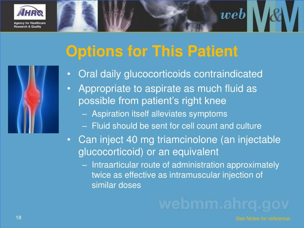 Options for This Patient