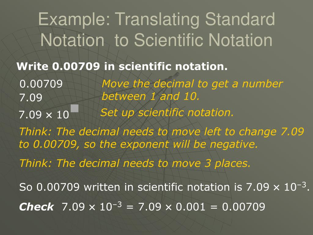 write in standard notation Fun math practice improve your skills with free problems in 'convert between standard and scientific notation' and thousands of other practice lessons.