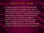 myren et al 1984 13 results