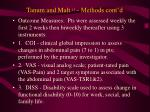 tanum and malt 15 methods cont d