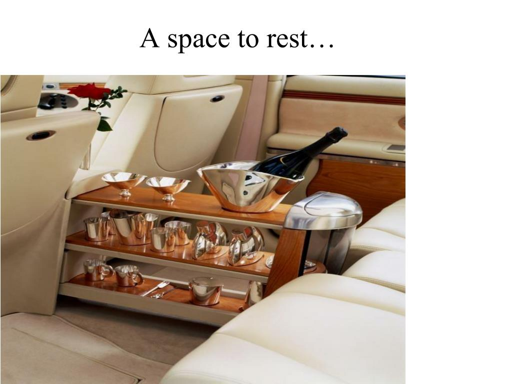A space to rest…