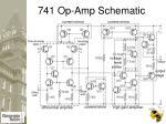 741 op amp schematic