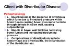 client with diverticular disease140