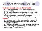 client with diverticular disease148
