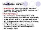 esophageal cancer30