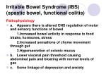 irritable bowel syndrome ibs spastic bowel functional colitis71