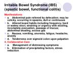 irritable bowel syndrome ibs spastic bowel functional colitis72