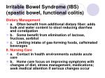 irritable bowel syndrome ibs spastic bowel functional colitis75