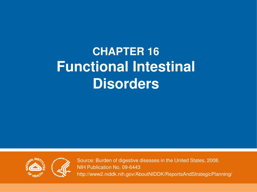 chapter 16 functional intestinal disorders l.