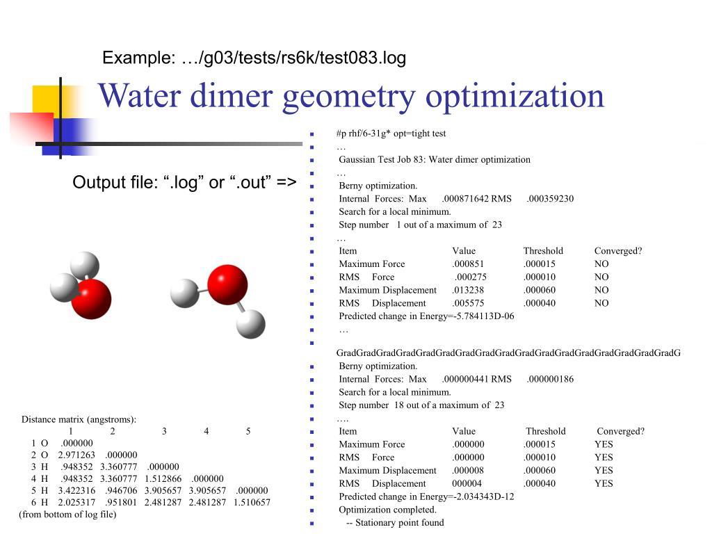 PPT - Computational Spectroscopy II  ab initio Methods PowerPoint
