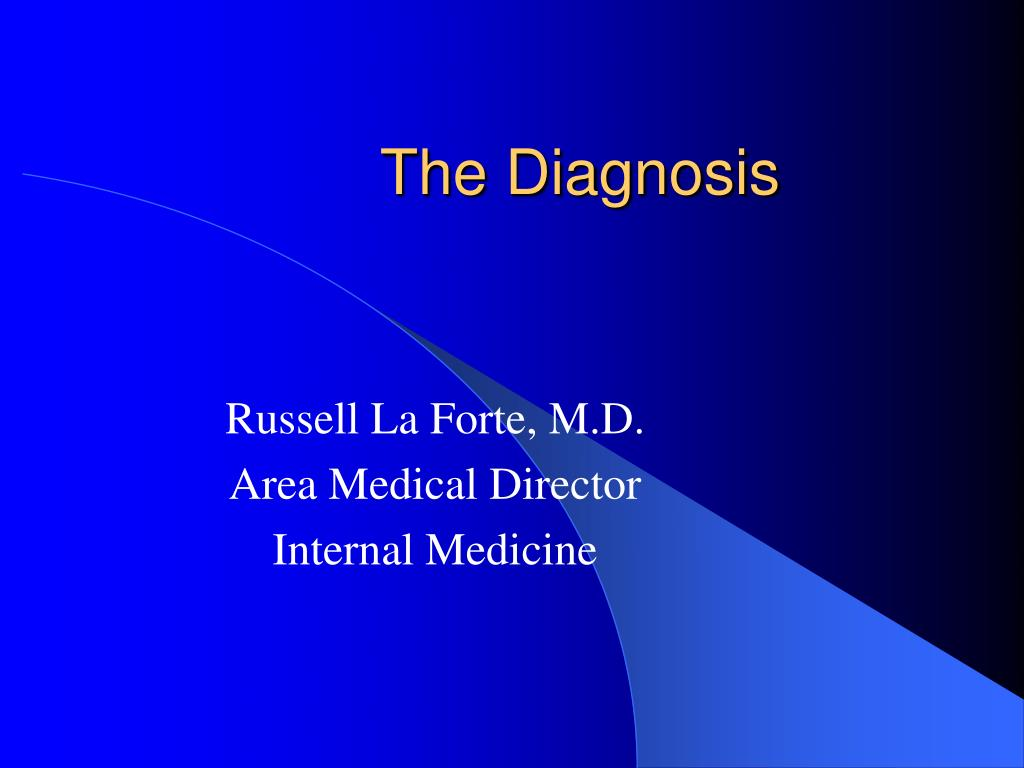 the diagnosis l.
