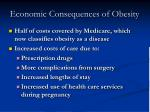 economic consequences of obesity19