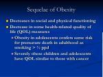 sequelae of obesity15