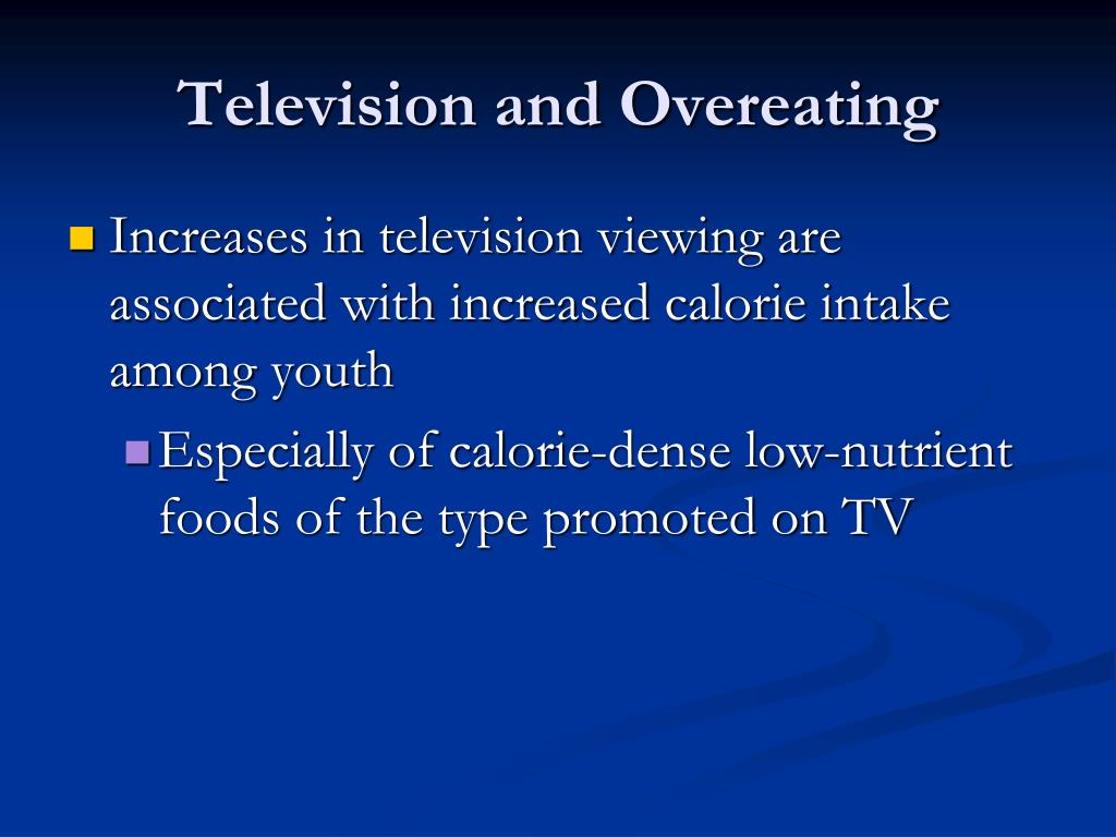 Television and Overeating