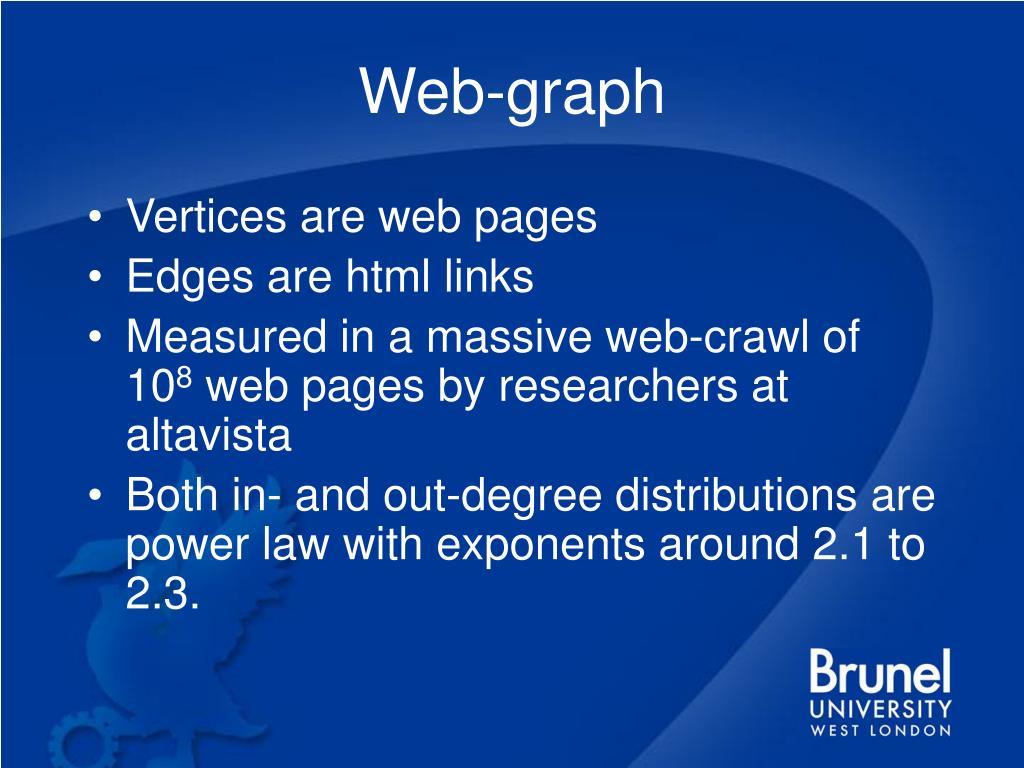 Web-graph