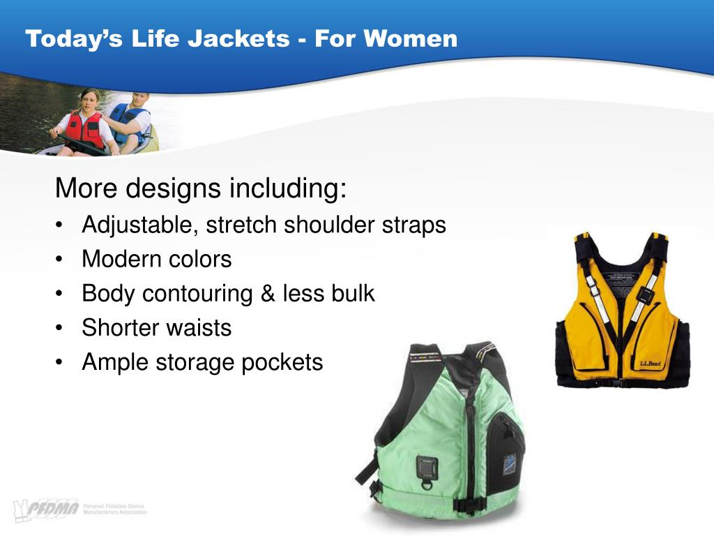 Today's Life Jackets - For Women
