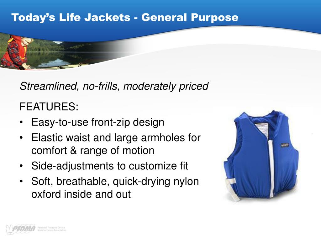 Today's Life Jackets - General Purpose