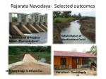 rajarata navodaya selected outcomes