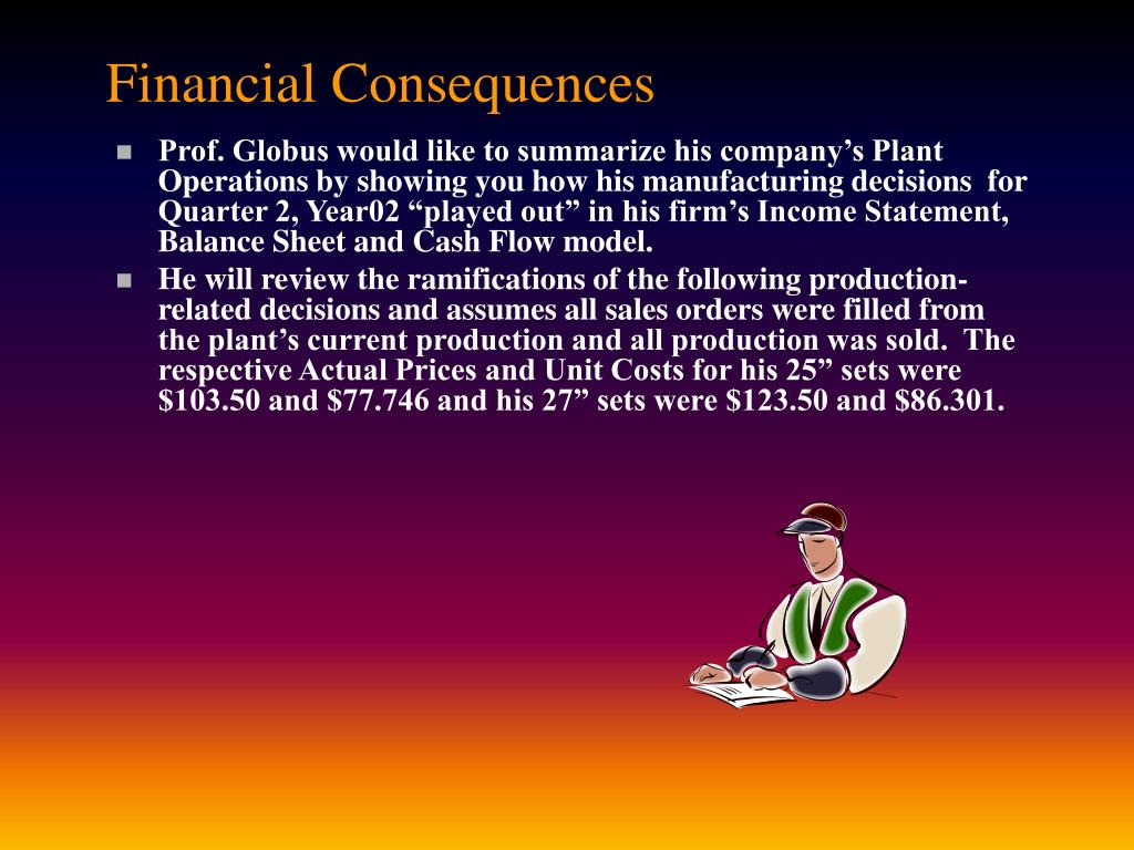 Financial Consequences
