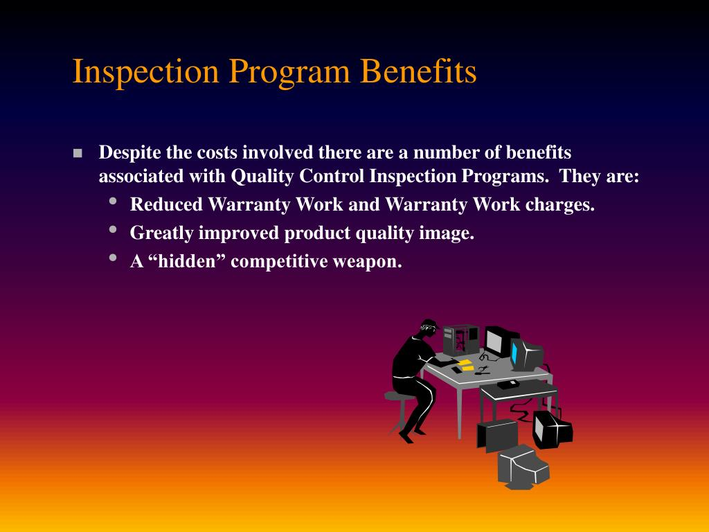 Inspection Program Benefits