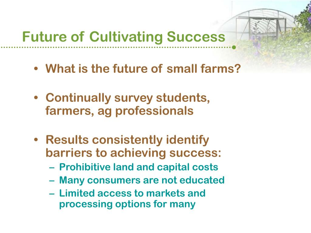 Future of Cultivating Success