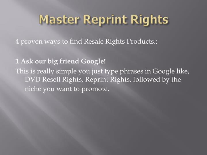 Master reprint rights2