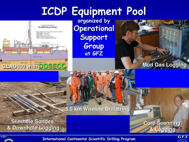 ICDP Equipment Pool