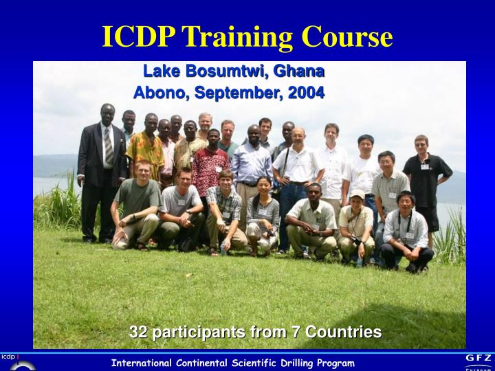 ICDP Training Course