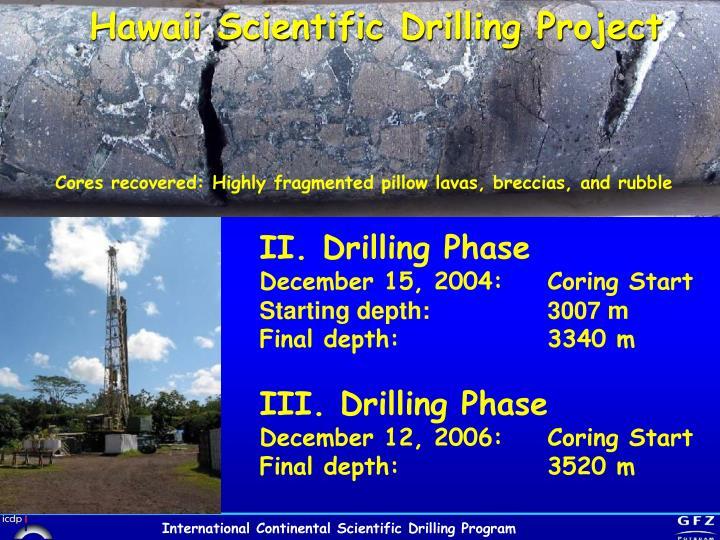 Hawaii Scientific Drilling Project