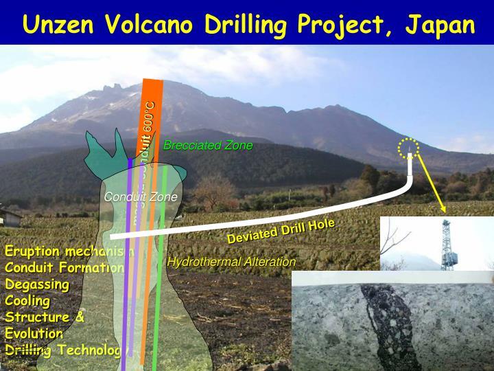 Unzen Volcano Drilling Project, Japan