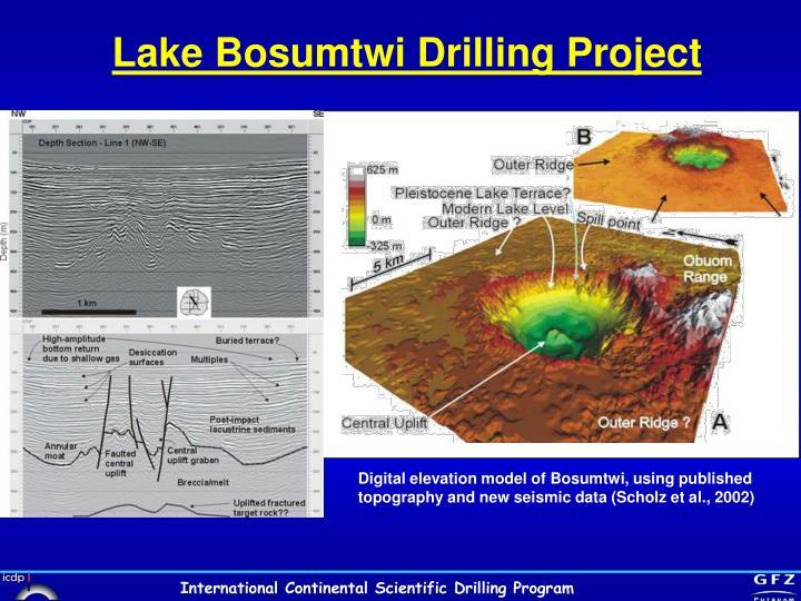 Lake Bosumtwi Drilling Project
