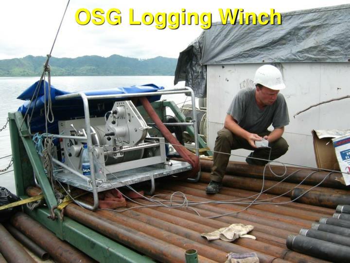 OSG Logging Winch