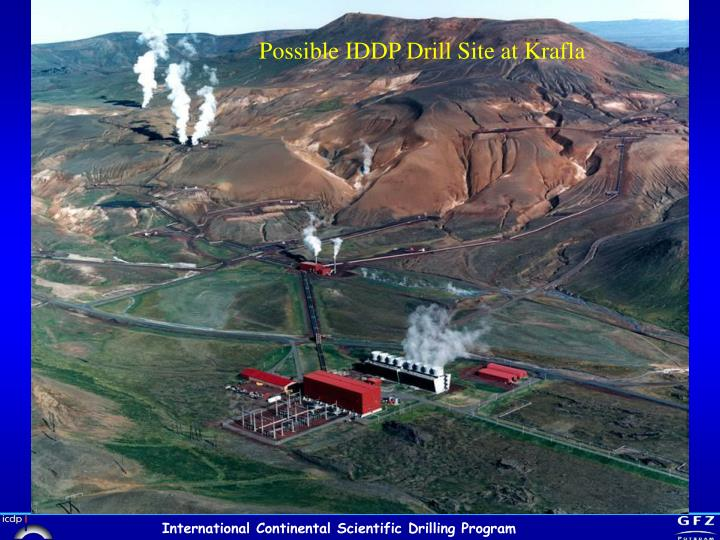 Possible IDDP Drill Site at Krafla