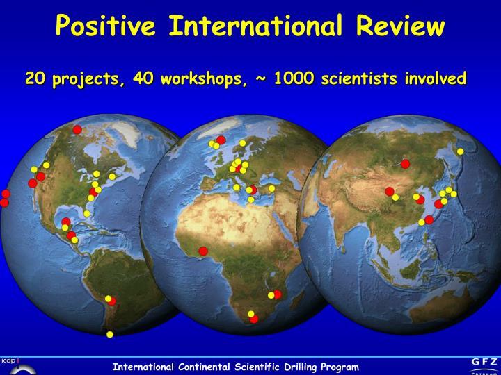 Positive International Review