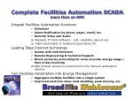 complete facilities automation scada more than an hmi